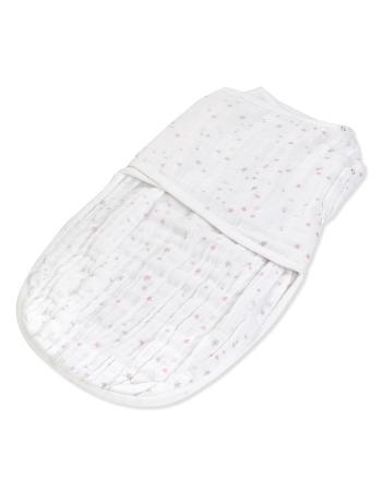 Муслиновая пеленка для новорожденных Aden&Anais на кнопках, Love
