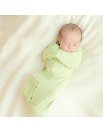 Пеленка-кокон для новорожденных трикотажный, аметист
