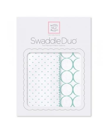 Набор пеленок SwaddleDesigns Swaddle Duo SC Classic