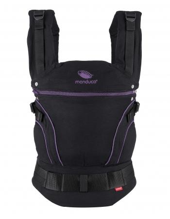 Эрго-рюкзак Manduca, Blackline серый