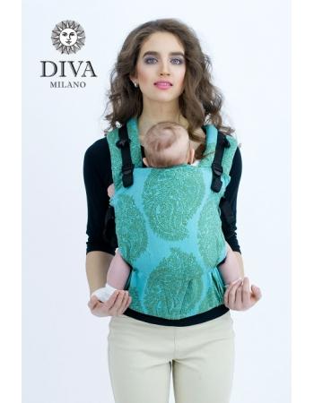 Эрго-рюкзак для новорожденных Diva Essenza Menta One! с бамбуком