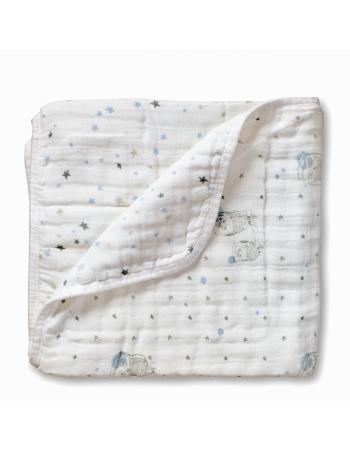 Aden&Anais одеяло муслиновое, Night Sky + Starburst (ночное небо + вспышка)