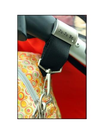 Крепления для колясок Ju-Ju-Be к сумкам и рюкзакам для мам, серебро