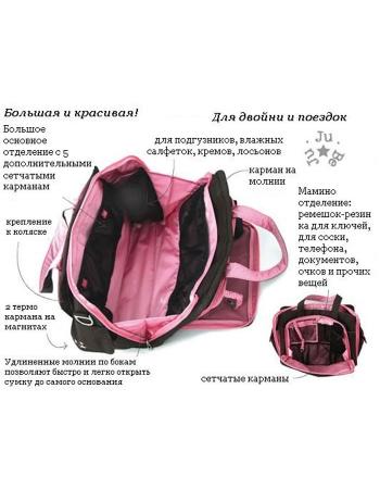 Дорожная сумка или сумка для двойни Ju-Ju-Be Be Prepared