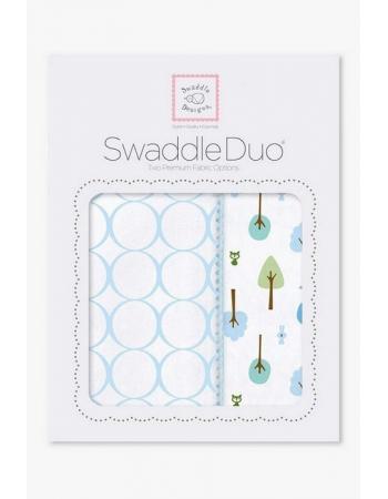 Набор пеленок SwaddleDesigns Swaddle Duo PB Cute & Wild