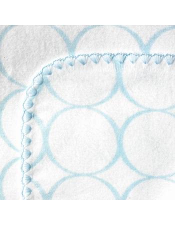 Фланелевая пеленка для новорожденного SwaddleDesigns Ultimate Blue Mod on WH