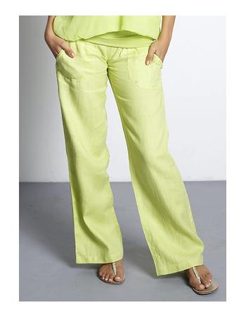 Брюки для беременных и кормящих Mothers en Vogue Weekender Pants, цвет зеленый