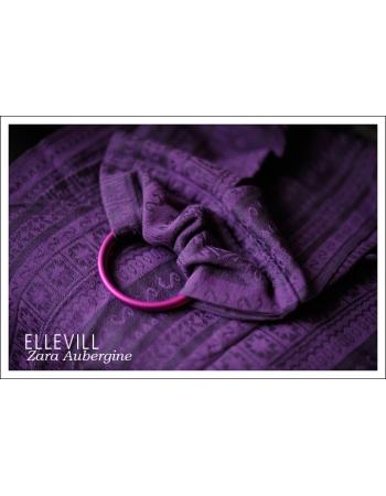 Слинг с кольцами Ellevill Zara Aubergin
