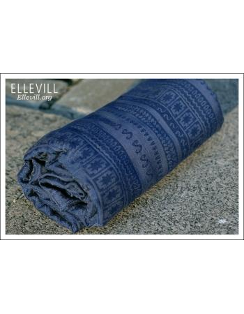 Слинг с кольцами с шелком Ellevill Caelum Blue