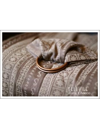 Слинг с кольцами Ellevill Zara Chocco