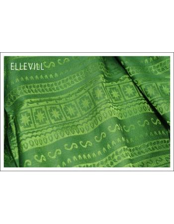 Слинг с кольцами Ellevill Caelum Green с шелком