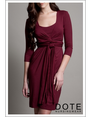 "Платье DOTE ""Madison"", цвет бургунди"
