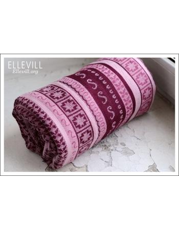 Слинг с кольцами Ellevill Zara Tricolor Sugar со льном