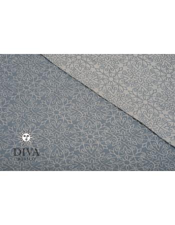 Слинг с кольцами Diva Basico, Argento