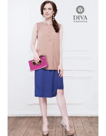 Топ для кормящих и беременных Diva Nursingwear Celia, Moka