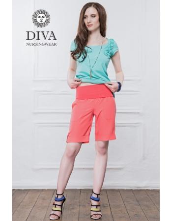 Шорты для беременных и родивших Diva Nursingwear Deborah, Corallo