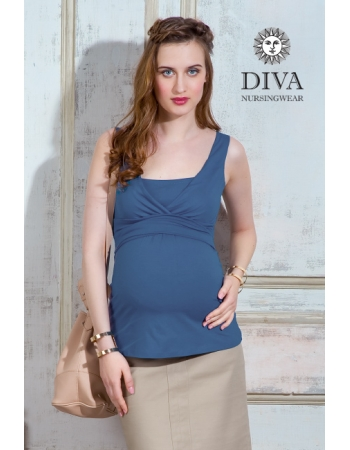 Топ для кормящих и беременных Diva Nursingwear Alba, цвет Notte