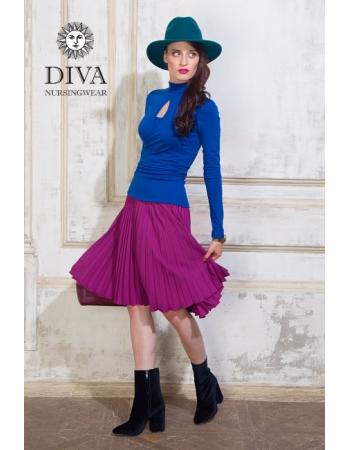 Топ для кормящих и беременных Diva Nursingwear Maura, Azzurro