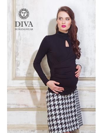 Топ для кормящих и беременных Diva Nursingwear Maura, Nero