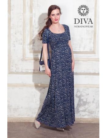 Платье для кормящих и беременных Diva Nursingwear Stella Maxi, Pastorale