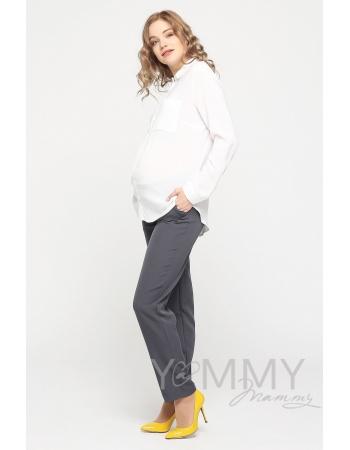 Костюм для беременных и кормящих мам, цвет темно-серый