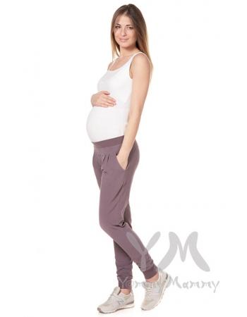 Майка для кормящих и беременных, белая (рибана)