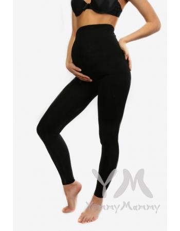 Лосины для беременных черные из модала