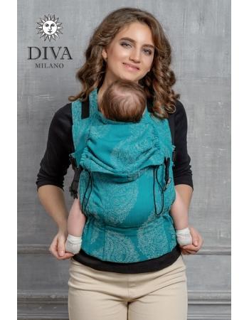Эрго-рюкзак Diva Essenza Smeraldo
