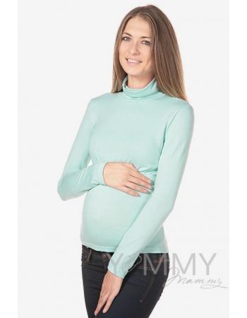 Водолазка для кормящих и беременных, цвет ментол
