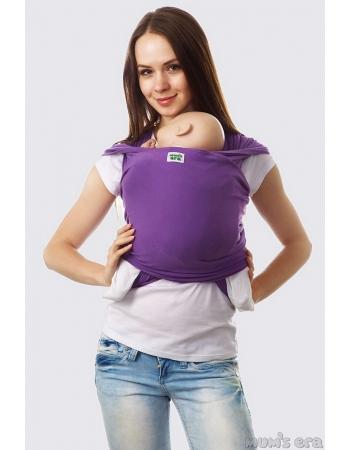 Слинг-шарф трикотажный, фиолетовый