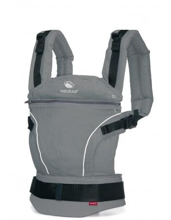Эрго-рюкзак Manduca PureCotton, Dark Grey (серый)