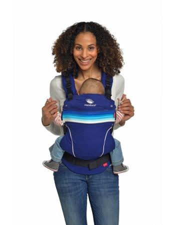 Эрго-рюкзак Manduca PureCotton, Royal Blue (синий)