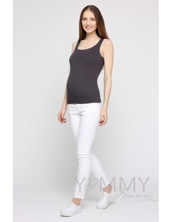 Майка для кормящих и беременных, цвет антрацит