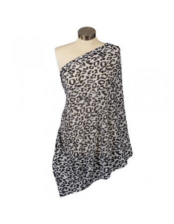 Шарф-накидка для кормления Itzy Ritzy, Cheetah Girl