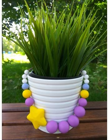 Слингобусы Аврора, желто-фиолетовые