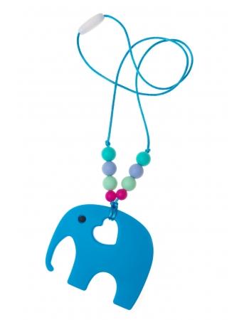 Слингобусы с прорезывателем Сафари, голубые