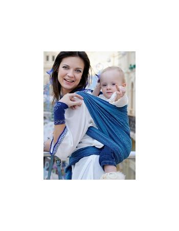 Слинг-шарф Ellevill Zara Blueberry