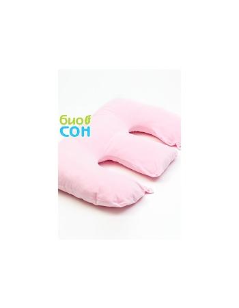 """Подушка для двойни BabyTwins """"Розовая"""""""