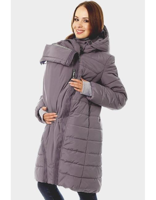 26703a83ef1c Слингокуртка зимняя Tepla 3в1, графит - купить Верхняя одежда для ...