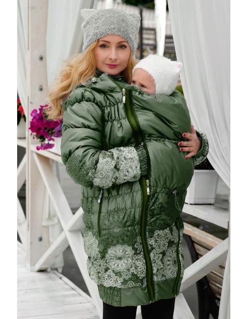 Слингокуртка зимняя Diva Outerwear Pino - купить Верхняя одежда для ... 65074a1b381