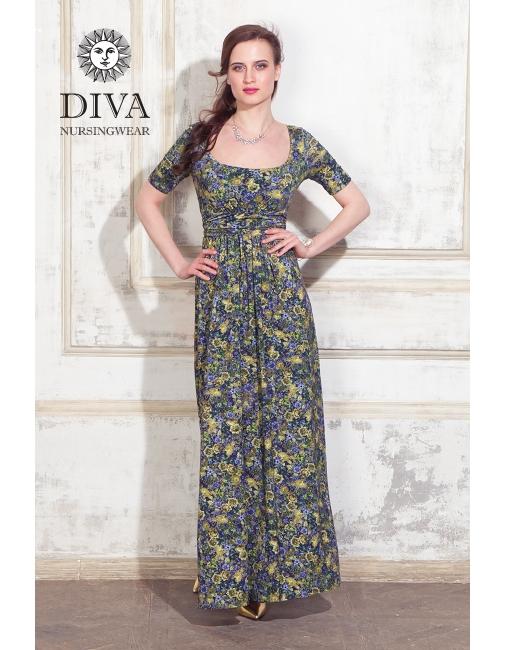 Платье для кормящих и беременных Diva Nursingwear Stella Maxi, ... 0da471f5f11