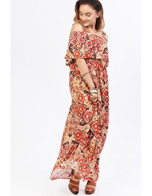 779cd70070c Платье-сарафан для беременных и кормящих на лямках